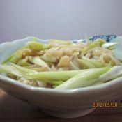 葱拌金针菇