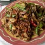 干竹笋炒肉