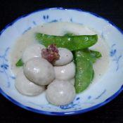 荷蘭豆燴白菇