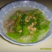 瑶柱丝瓜汤的做法