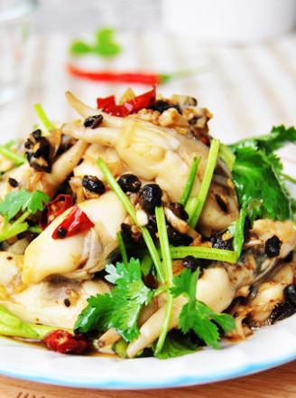香辣豆豉拌蟶肉的做法