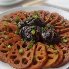 卤藕和卤香菇