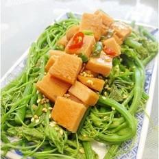 风萝卜蹄花汤怎么做午餐肉拌龙须菜的做法
