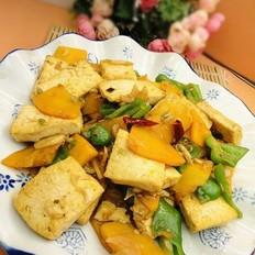 南瓜炒豆腐