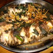 紫苏干焖鱼段