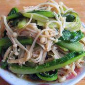 鳝干怎么做好吃凉拌金针莴笋叶的做法