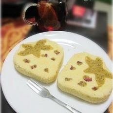 草莓茶蛋糕