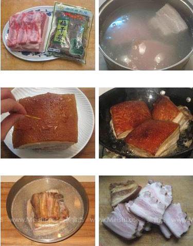 梅菜扣肉的做法大全