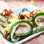黄瓜白肉卷