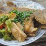 豆腐炒鲈鱼