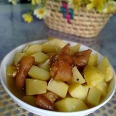 豬腳燉土豆