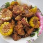红烧肉炖玉米