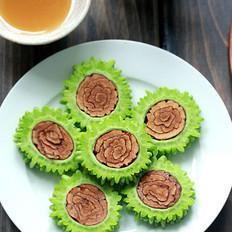 红枣蜂蜜酿苦瓜