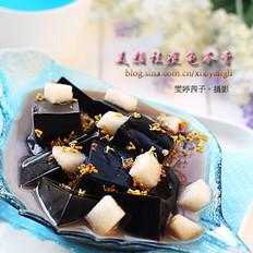 桂花梨汁龟苓膏