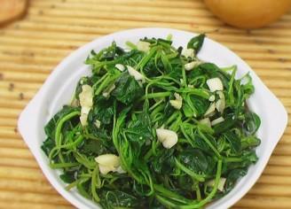 凉拌野苋菜的做法