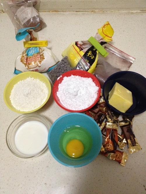 巧克力豆马芬的做法大全