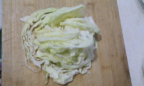 凉拌包菜云丝的做法图解