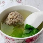 獅子頭生菜湯