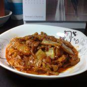 五花肉辣白菜