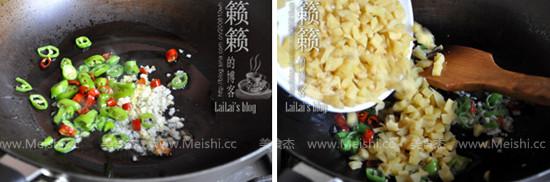 萝卜干炒肉末的家常做法