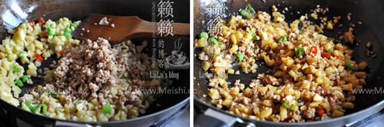 萝卜干炒肉末的简单做法