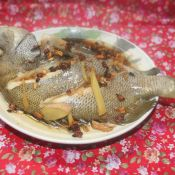 清蒸包公魚