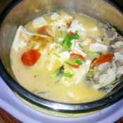 黄刺鱼炖豆腐