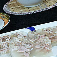 水晶肉皮冻