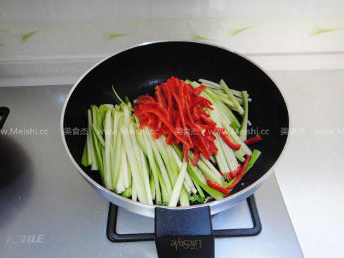红椒茄子的家常做法