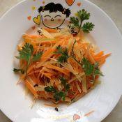 风萝卜蹄花汤怎么做炝三丝的做法