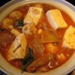 韩国泡菜炖鱼丸豆腐