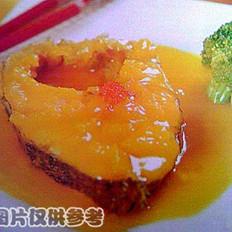 鲜橙银鳕鱼