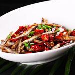 豆豉辣椒火焙鱼