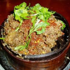 原笼粉蒸牛肉