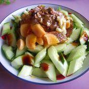 牛肉怎么炒最好吃凉拌黄瓜变蛋的做法