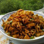 肉炒豆腐皮