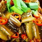 腊肉炖鳝片