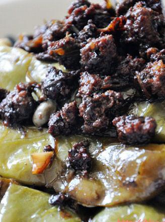橄榄菜肉沫烧豆角的做法