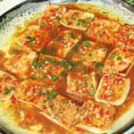 平锅煎豆腐