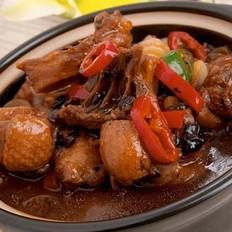 莲蓬沙锅鸡