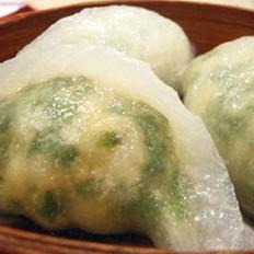 水晶野菜饺