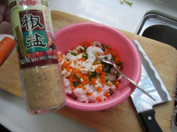 豆腐香煎米饼的家常做法