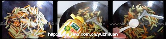 清炒西瓜皮的简单做法