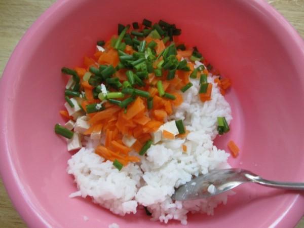 豆腐香煎米饼的做法图解