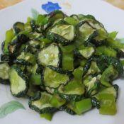 让豆腐怎么做好吃翻炒青瓜干的做法