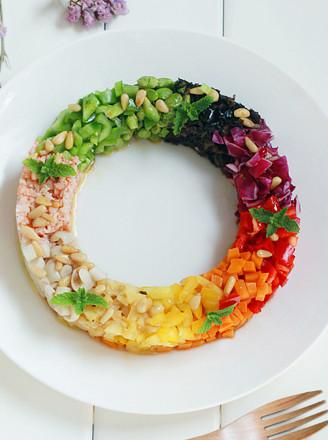 彩環沙拉的做法