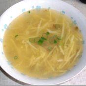 土豆榨菜肉丝汤