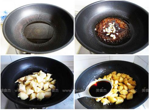 鲍鱼烧土豆的做法图解