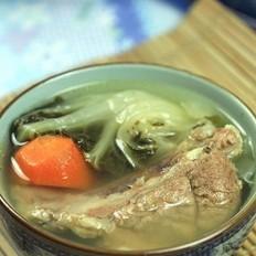 白菜猪大骨汤
