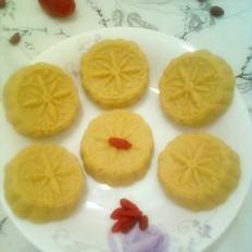 莲子玉米糕